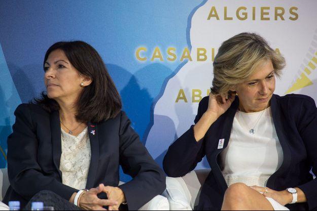 Anne Hidalgo et Valérie Pécresse en juillet dernier.