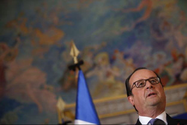 François Hollande à Nice, vendredi.
