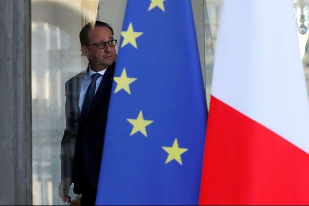 François Hollande à l'Elysée mercredi.