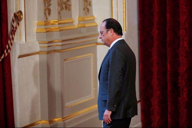 François Hollande à l'Elysée début novembre.