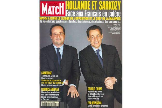 La couverture historique de mars 2005.