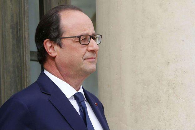 François Hollande à l'Elysée le 1er juillet.