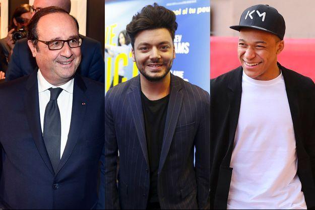"""François Hollande, Kev Adams et Kylian Mbappé sont les prochains invités de l'émission """"Au tableau!""""."""