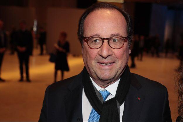 François Hollande le 20 février dernier à Paris.