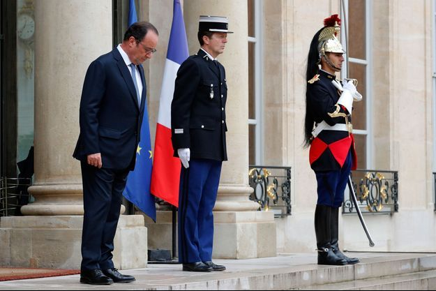 François Hollande, jeudi à l'Elysée.