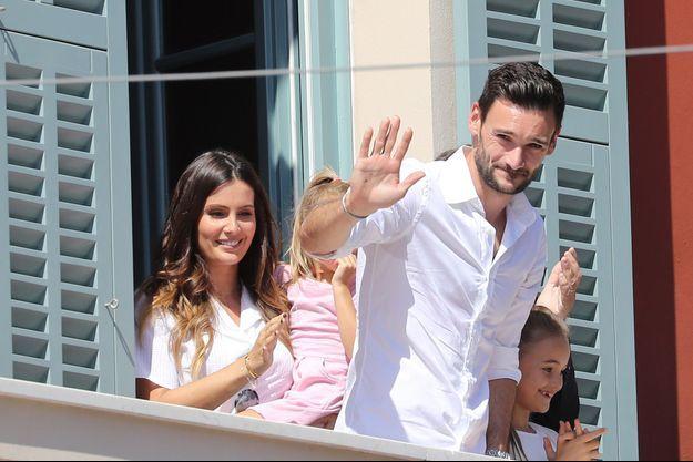 Hugo Lloris accueilli en héros à Nice mercredi après-midi.