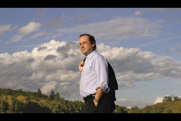 En octobre 2004, au bord de l'étang de Lachamp, près de Tulle.