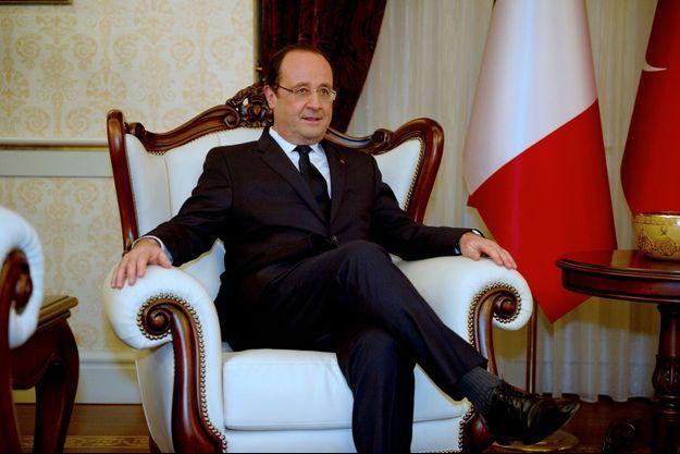 Francois Hollande en Turquie ce lundi.