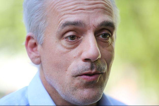 Philippe Poutou au premier tour des élections présidentielles, en avril dernier, à Bordeaux.