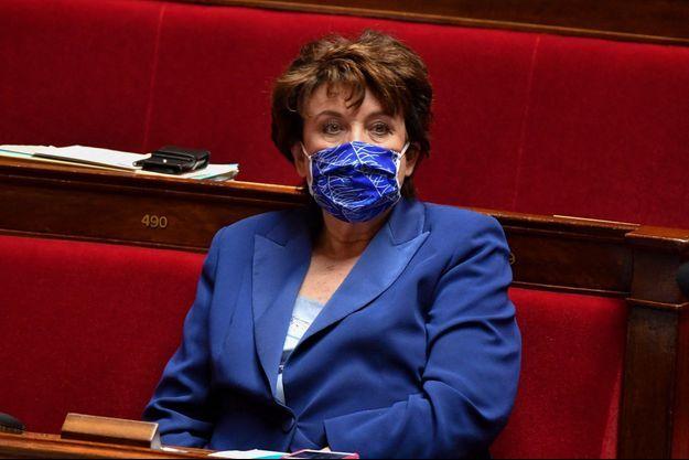 Roselyne Bachelot le 9 mars 2021 à l'Assemblée nationale.