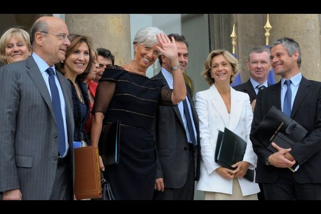Christine Lagarde a assisté mercredi à son dernier conseil des ministres. Son départ pour le FMI a donné le coup d'envoi du remaniement.