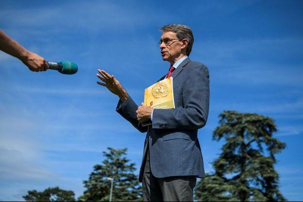 Le directeur de Human Right Watch, Kenneth Roth, en septembre 2017.