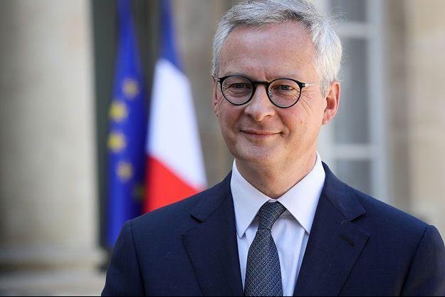 Bruno Le Maire la semaine dernière à l'Elysée.