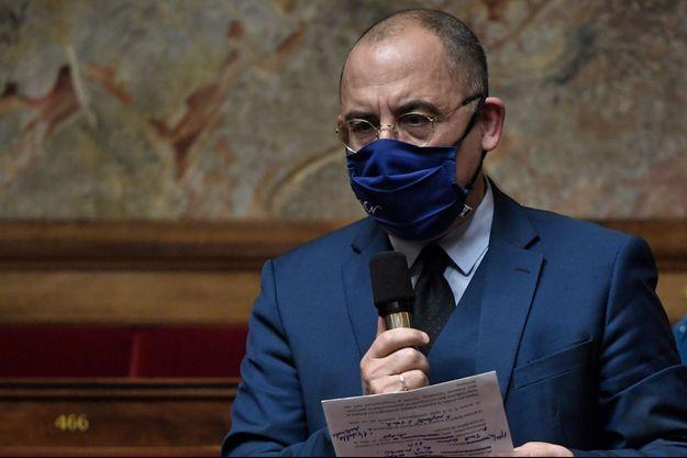 Le député LREM de l'Eure Bruno Questel , mardi à l'Assemblée.