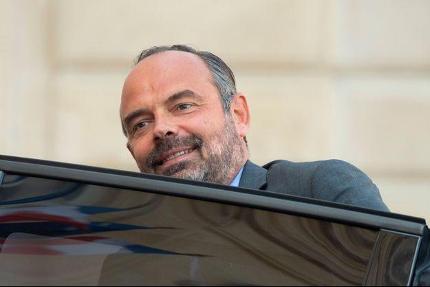 Edouard Philippe à l'Elysée le 18 septembre.
