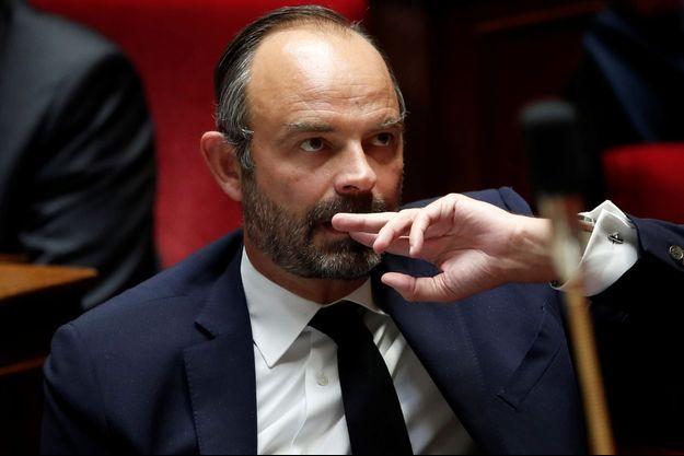 Edouard Philippe lundi à l'Assemblée nationale.