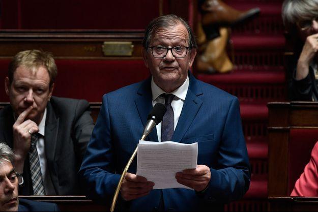 Le député PCF Alain Bruneel en mai 2019 à l'Assemblée.