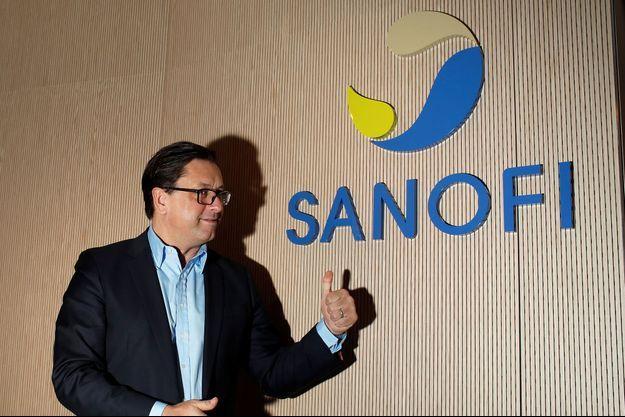 Le directeur général de Sanofi, Paul Hudson, ici en conférence à Paris début février.