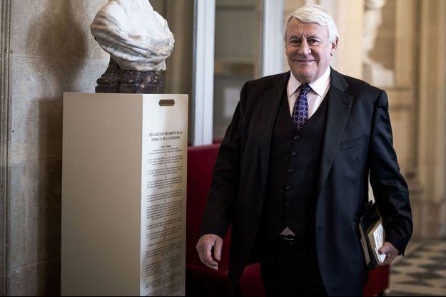 Claude Goasguen, ici à l'Assemblée nationale en mars 2019