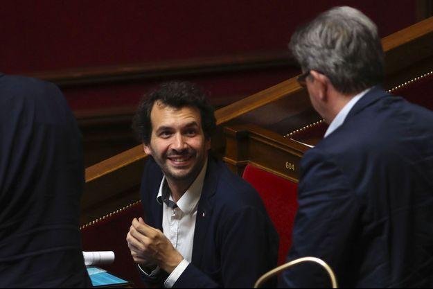 Le député Bastien Lachaud à l'Assemblée nationale, en août dernier.