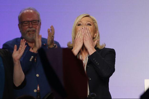 Marine Le Pen, jeudi 10 décembre à Paris.