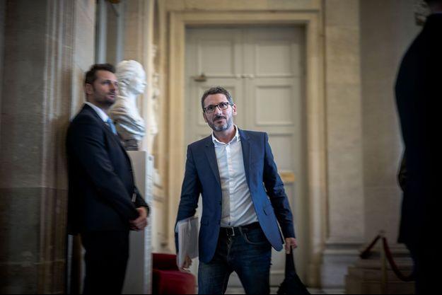 Le député Matthieu Orphelin à l'Assemblée nationale, le 4 février.
