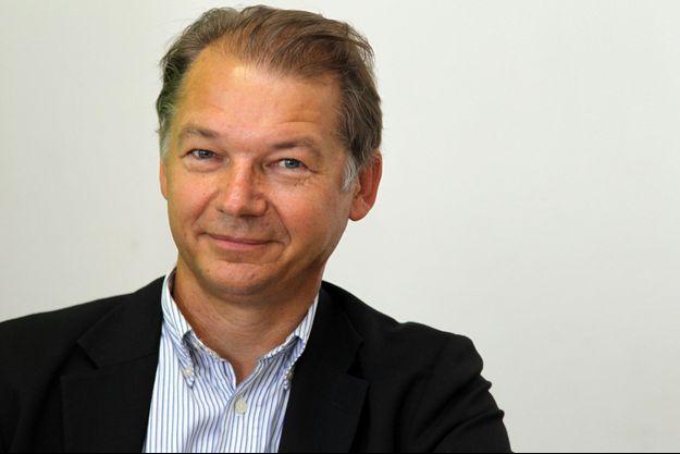 L'eurodéputé Philippe Lamberts à l'université d'été d'Europe Ecologie - Les Verts, en août dernier.