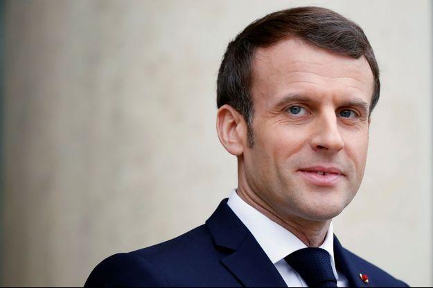 Emmanuel Macron, le 7 janvier 2020.