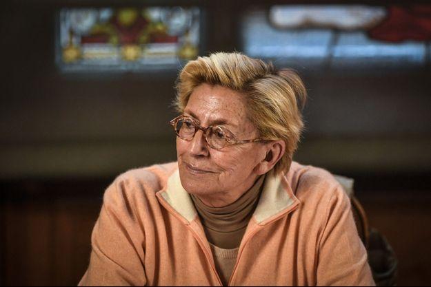 Isabelle Balkany lors d'un conseil municipal, le 15 avril, à Levallois-Perret.