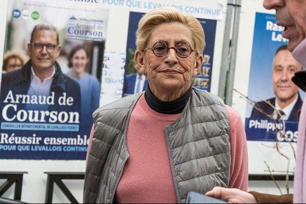Isabelle Balkany, ici lors des élections municipales 2020.