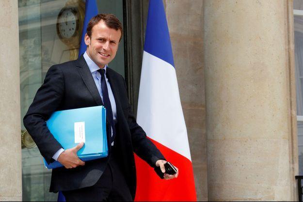 Emmanuel Macron le 8 juin dernier.