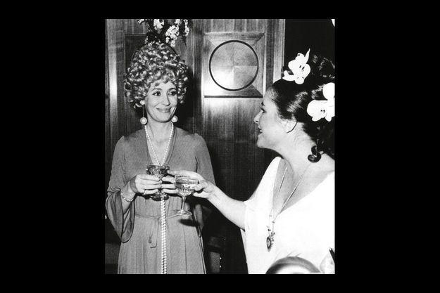« Le soir du cocktail, nous avions le même coiffeur et nous discutions de nos parures respectives. »