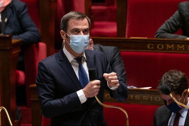 Olivier Véran, mardi à l'Assemblée nationale.