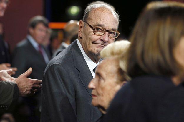 Jacques Chirac est de retour chez lui.