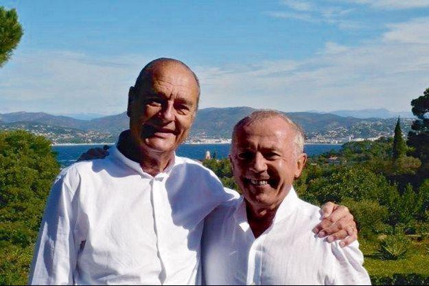 Une amitié de quarante ans. Août 2007, il passe quelques jours chez son ami François Pinault à Saint-Tropez, comme chaque été.