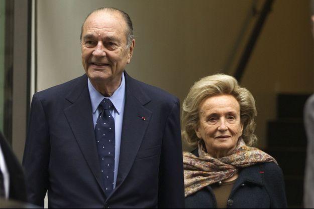 Jacques et Bernadette Chirac en 2011