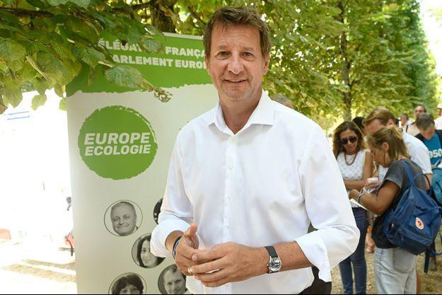 Yannick Jadot, ici le 20 août à Poitiers.