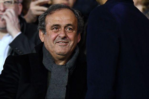 Michel Platini ici au Parc des Princes en décembre 2018.