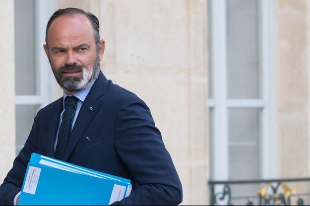 Edouard Philippe ici fin juin à l'Elysée.