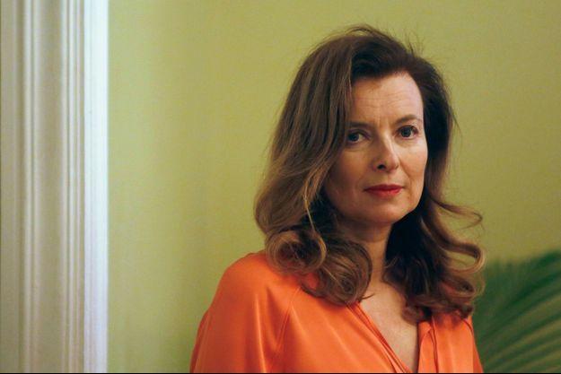 Valérie Trierweiler, le 27 janvier, à Mumbai en Inde.