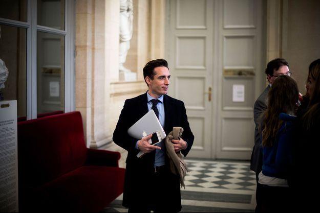 Jean-Baptiste Djebbari à l'Assemblée nationale en janvier 2019.