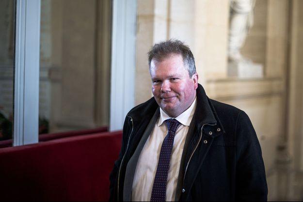 Jean-Baptiste Moreau à l'Assemblée Nationale, en mars 2019.