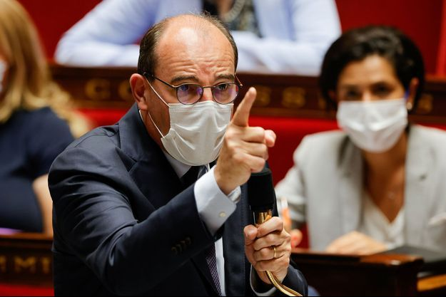Jean Castex, le 20 juillet 2021.