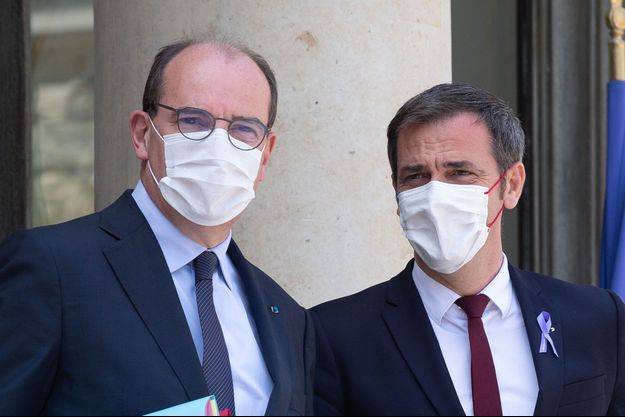 Jean Castex et Olivier Véran