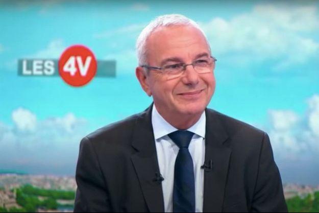 Jean Leonetti sur le plateau des 4 Vérités sur France 2.