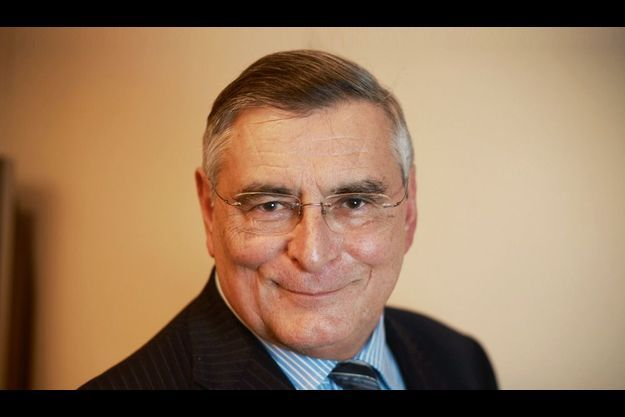 Le président d'honneur de Saint-Gobain, à son bureau chez Lazard, vendredi dernier.