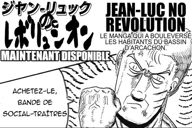 Jean-Luc Mélenchon, version manga