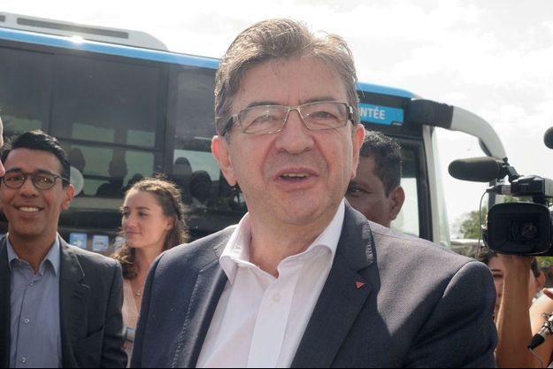 Jean-Luc Mélenchon à La Réunion.