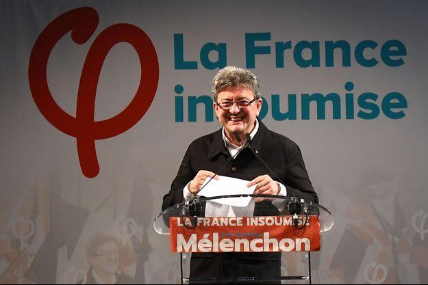 Jean-Luc Mélenchon dimanche soir à Marseille.