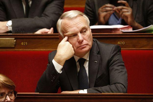 Jean-Marc Ayrault à l'Assemblée nationale le 18 novembre.